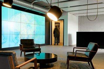 Display Wand Empfangsbereich