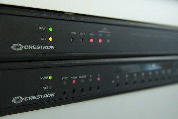 Signaltechnik von Crestron