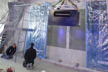Installation Medientechnik