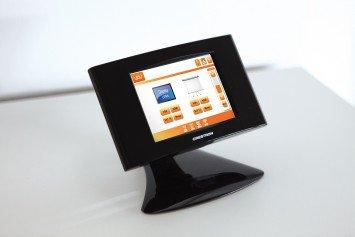 Mediensteuerung Crestron Funk Touch Panel