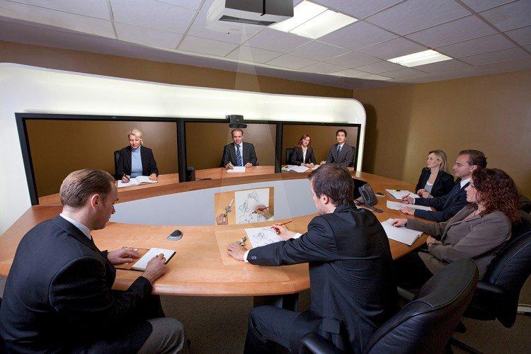 Telepresence Videokonferenzraum
