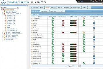 Crestron FusionOberfläche
