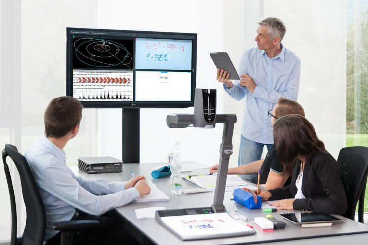 Cynap Präsentationssystem WolfVision