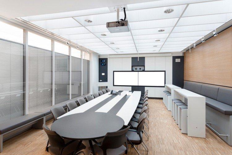 Konferenztechnik Konferenzraum