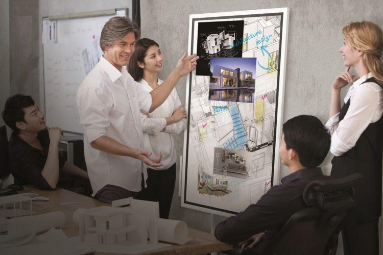 Samsung Flip - Digitales Flipchart mit Präsentationsfunktion