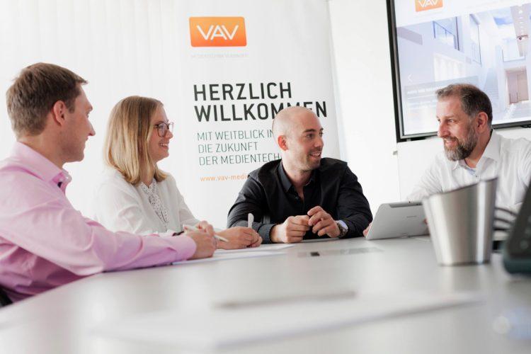 vav-Team in Besprechnung