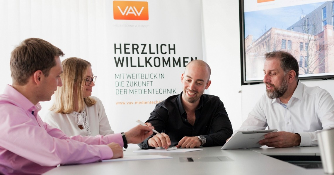 Kontakt VAV Medientechnik