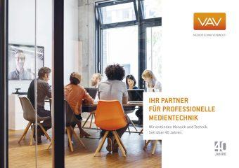 VAV Medientechnik Broschüre als PDF