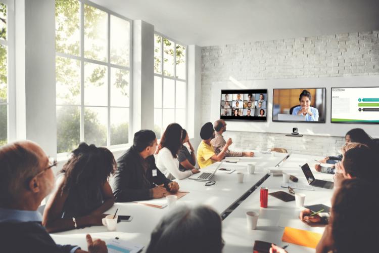Videokonferenz Zoom Rooms